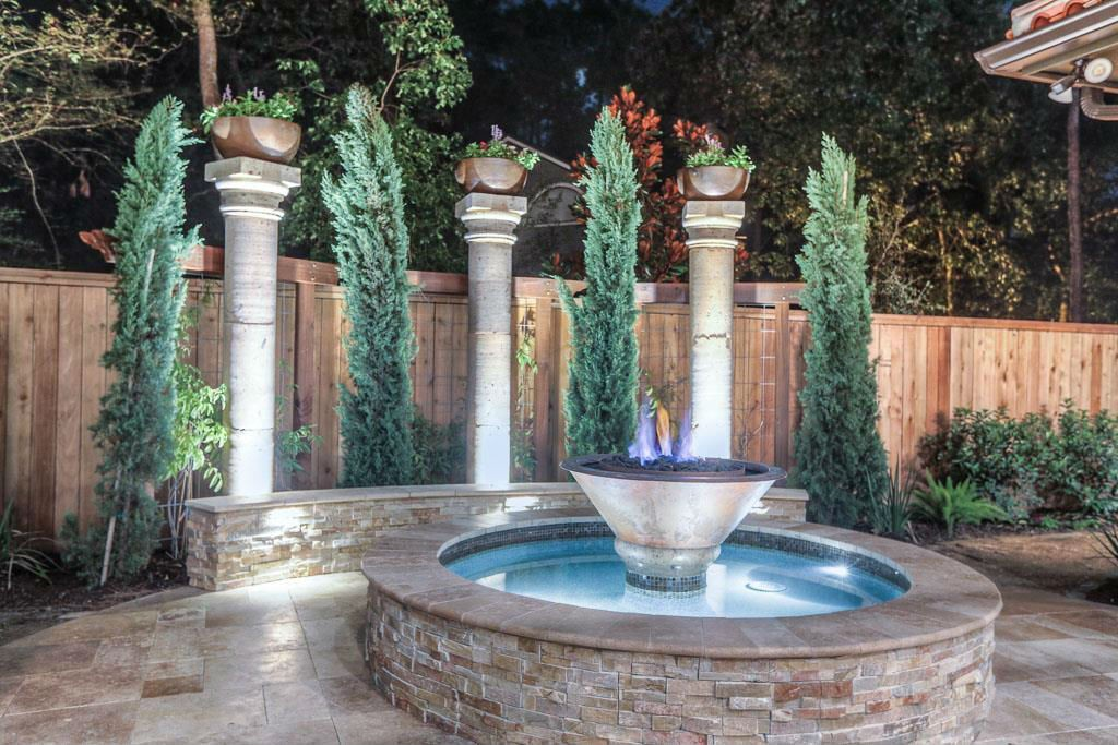 Landscaping Water Features Spring Tx The Woodlands Tx